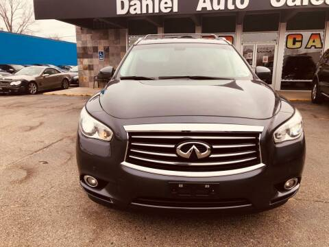 2014 Infiniti QX60 for sale at Daniel Auto Sales inc in Clinton Township MI