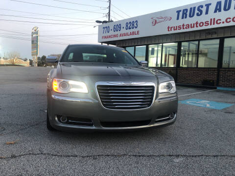 2012 Chrysler 300 for sale at Trust Autos, LLC in Decatur GA