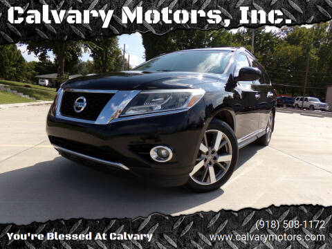 2013 Nissan Pathfinder for sale at Calvary Motors, Inc. in Bixby OK