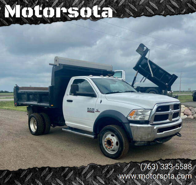 2016 RAM Ram Chassis 5500 for sale at Motorsota in Becker MN