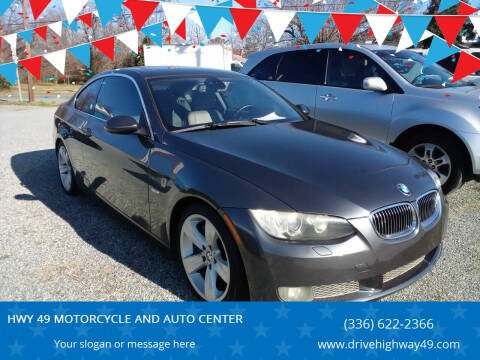 2007 BMW 3 Series for sale at HWY 49 MOTORCYCLE AND AUTO CENTER in Liberty NC
