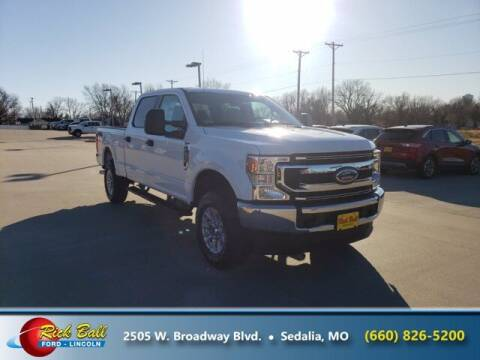 2021 Ford F-250 Super Duty for sale at RICK BALL FORD in Sedalia MO