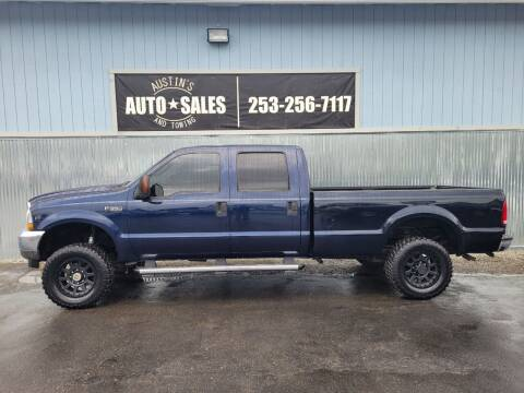 2004 Ford F-350 Super Duty for sale at Austin's Auto Sales in Edgewood WA