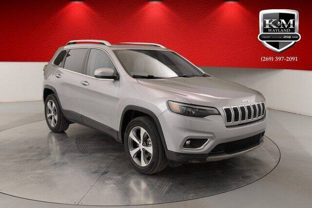 2019 Jeep Cherokee for sale at K&M Wayland Chrysler  Dodge Jeep Ram in Wayland MI