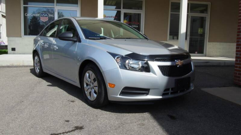 2014 Chevrolet Cruze for sale at Just In Time Auto in Endicott NY