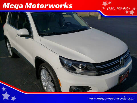 2013 Volkswagen Tiguan for sale at Mega Motorworks in Appleton WI