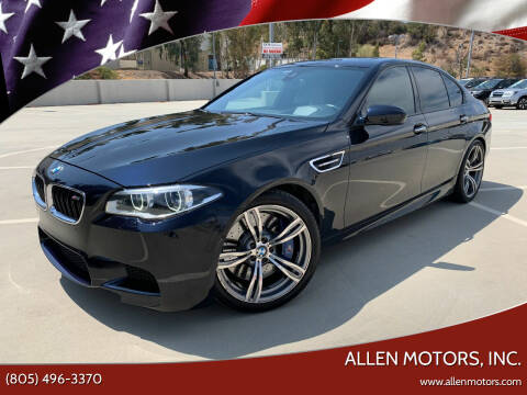 2014 BMW M5 for sale at Allen Motors, Inc. in Thousand Oaks CA