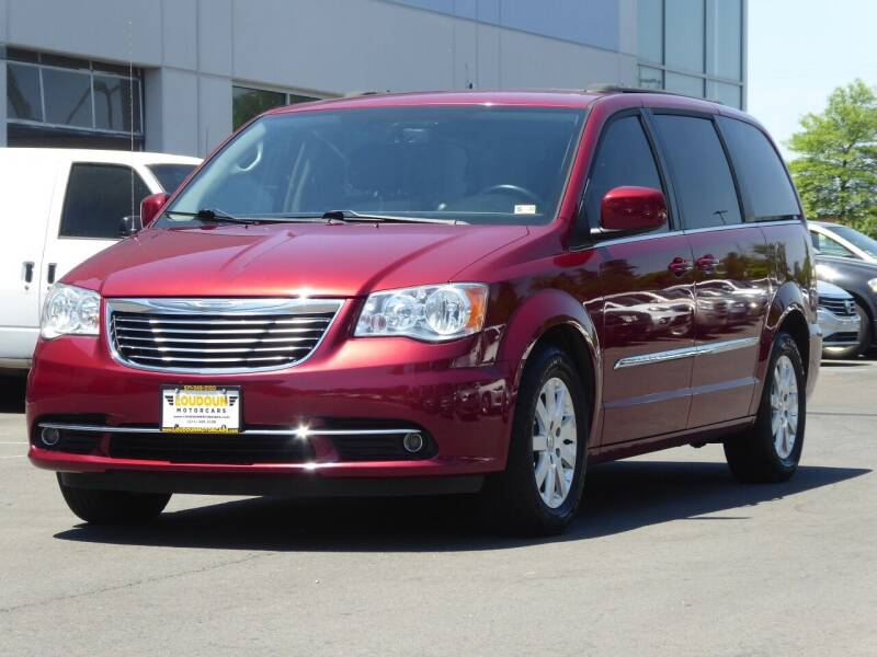 2015 Chrysler Town and Country for sale at Loudoun Motor Cars in Chantilly VA