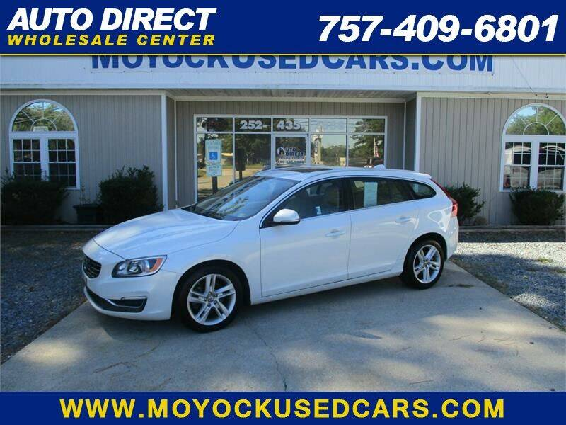 2015 Volvo V60 for sale at Auto Direct Wholesale Center in Moyock NC