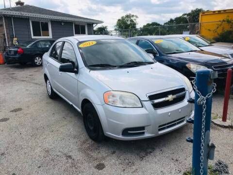2011 Chevrolet Aveo for sale at I57 Group Auto Sales in Country Club Hills IL