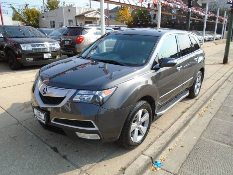 2011 Acura MDX for sale at CAR CENTER INC in Chicago IL