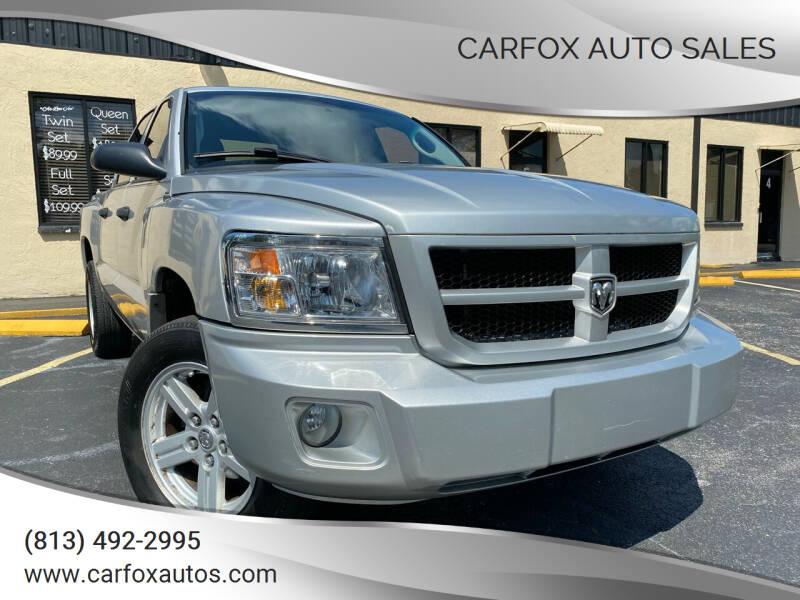 2008 Dodge Dakota for sale at Carfox Auto Sales in Tampa FL
