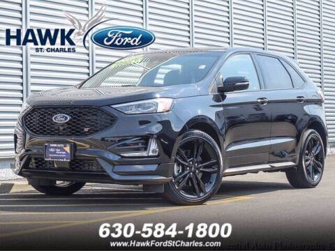2019 Ford Edge for sale at Hawk Ford of St. Charles in Saint Charles IL