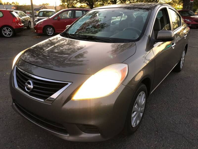2012 Nissan Versa for sale at Atlantic Auto Sales in Garner NC