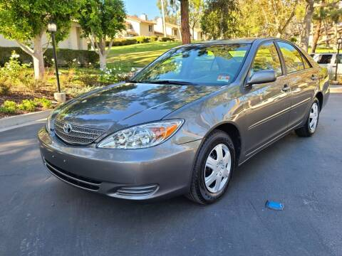 2002 Toyota Camry for sale at E MOTORCARS in Fullerton CA