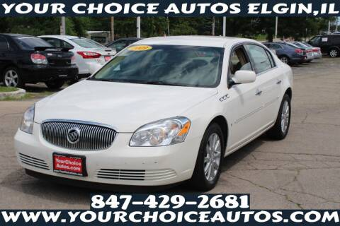 2009 Buick Lucerne for sale at Your Choice Autos - Elgin in Elgin IL