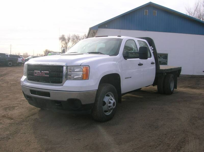 2012 GMC Sierra 3500HD CC for sale at HORSEPOWER AUTO BROKERS in Fort Collins CO