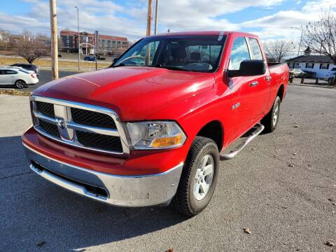 2010 Dodge Ram Pickup 1500 for sale at Auto Hub in Grandview MO