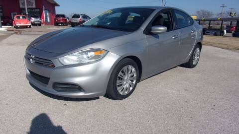 2015 Dodge Dart for sale at 6 D's Auto Sales MANNFORD in Mannford OK
