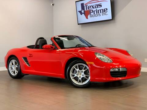 2007 Porsche Boxster for sale at Texas Prime Motors in Houston TX