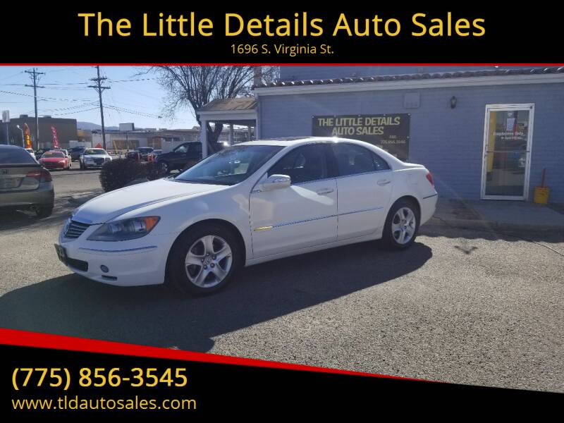 2007 Acura RL for sale at The Little Details Auto Sales in Reno NV