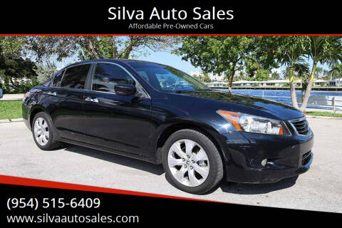 2008 Honda Accord for sale at Silva Auto Sales in Pompano Beach FL
