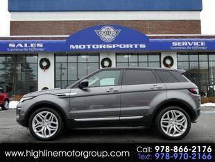 2017 Land Rover Range Rover Evoque for sale at Highline Group Motorsports in Lowell MA