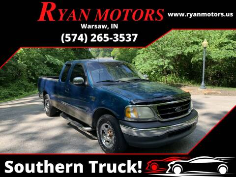2001 Ford F-150 for sale at Ryan Motors LLC in Warsaw IN