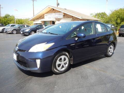 2013 Toyota Prius for sale at Browning's Reliable Cars & Trucks in Wichita Falls TX