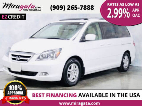 2005 Honda Odyssey for sale at Miragata Auto in Bloomington CA