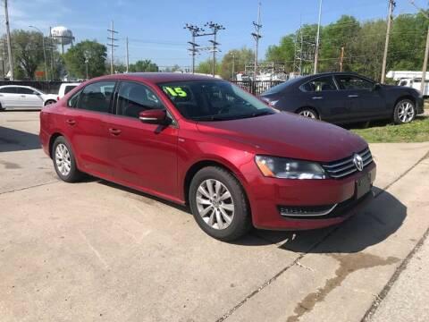 2015 Volkswagen Passat for sale at Jerry & Menos Auto Sales in Belton MO