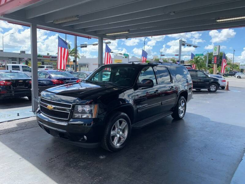 2014 Chevrolet Suburban for sale at American Auto Sales in Hialeah FL