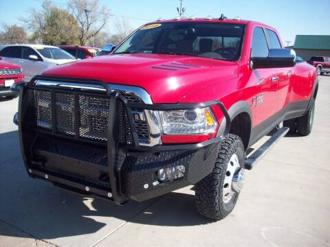 2018 RAM Ram Pickup 3500 for sale at Nemaha Valley Motors in Seneca KS