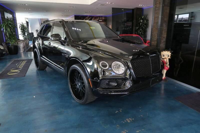 2018 Bentley Bentayga for sale at OC Autosource in Costa Mesa CA