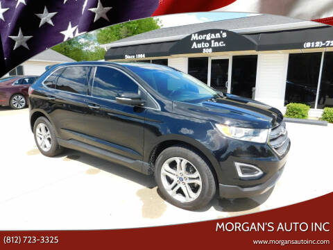 2017 Ford Edge for sale at Morgan's Auto Inc in Paoli IN