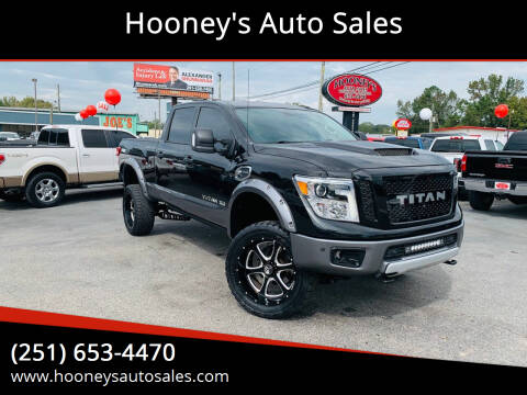 2017 Nissan Titan XD for sale at Hooney's Auto Sales in Theodore AL