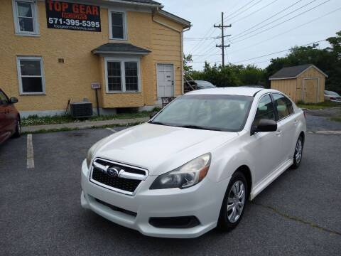 2013 Subaru Legacy for sale at Top Gear Motors in Winchester VA