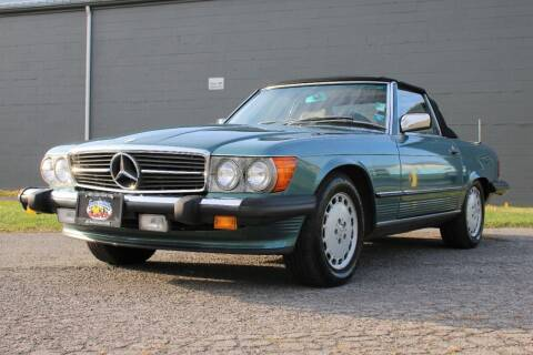 1986 Mercedes-Benz 560-Class for sale at Great Lakes Classic Cars & Detail Shop in Hilton NY