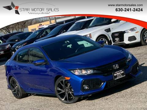 2018 Honda Civic for sale at Star Motor Sales in Downers Grove IL