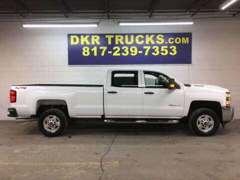 2018 Chevrolet Silverado 2500HD for sale at DKR Trucks in Arlington TX