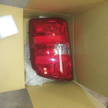 Chevrolet Tail light for sale at BENHAM AUTO INC - Peace of Mind Auto Collision and Repair in Lubbock TX