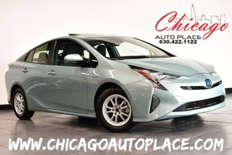 2017 Toyota Prius for sale at Chicago Auto Place in Bensenville IL