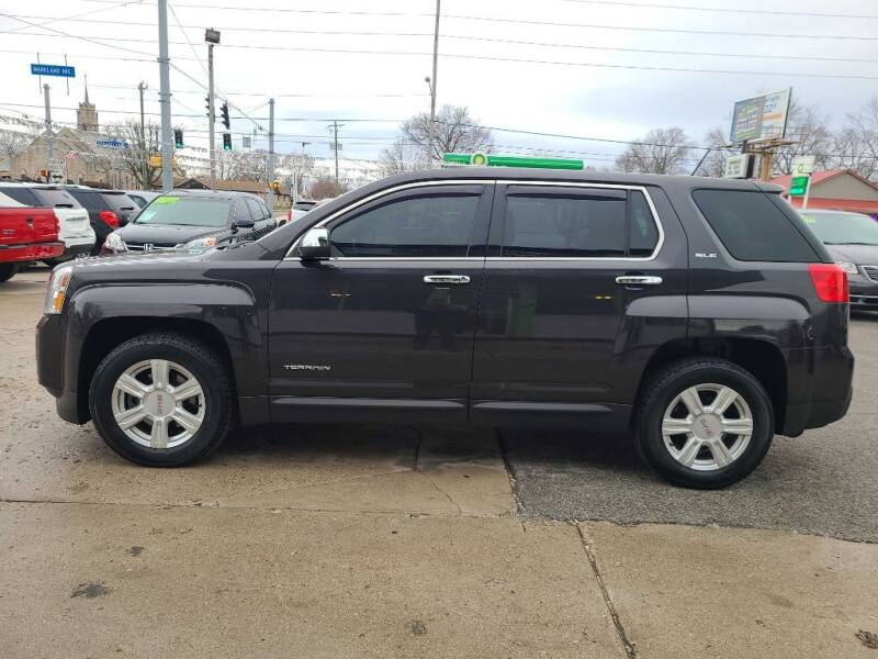 2015 GMC Terrain for sale at Bob Boruff Auto Sales in Kokomo IN