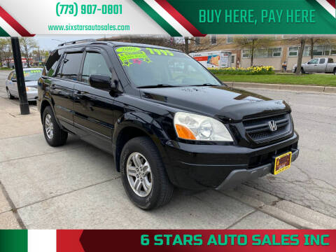 2005 Honda Pilot for sale at 6 STARS AUTO SALES INC in Chicago IL