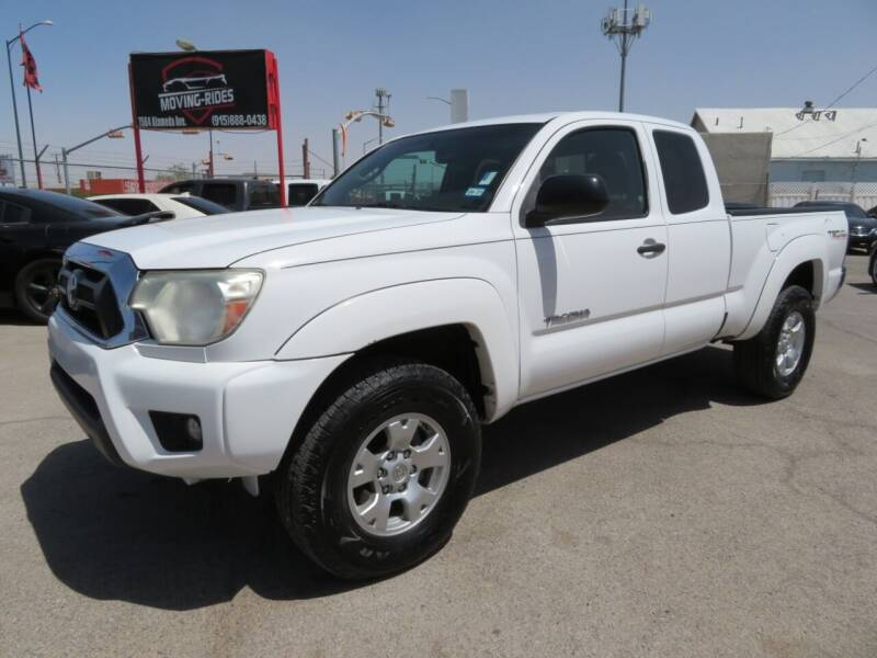 2012 Toyota Tacoma for sale at Moving Rides in El Paso TX