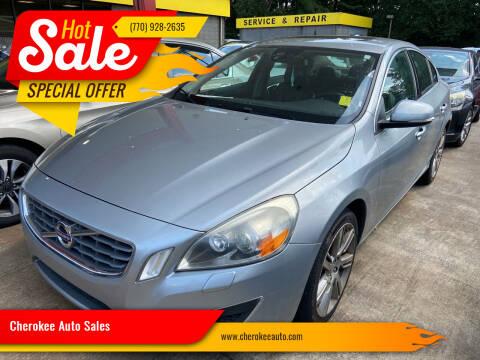 2012 Volvo S60 for sale at Cherokee Auto Sales in Acworth GA