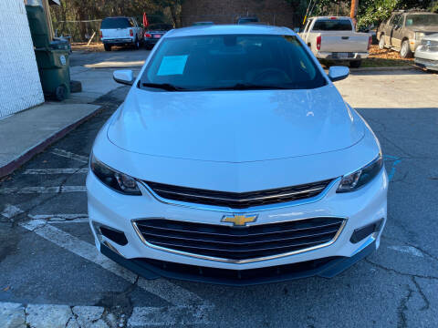 2018 Chevrolet Malibu for sale at J Franklin Auto Sales in Macon GA