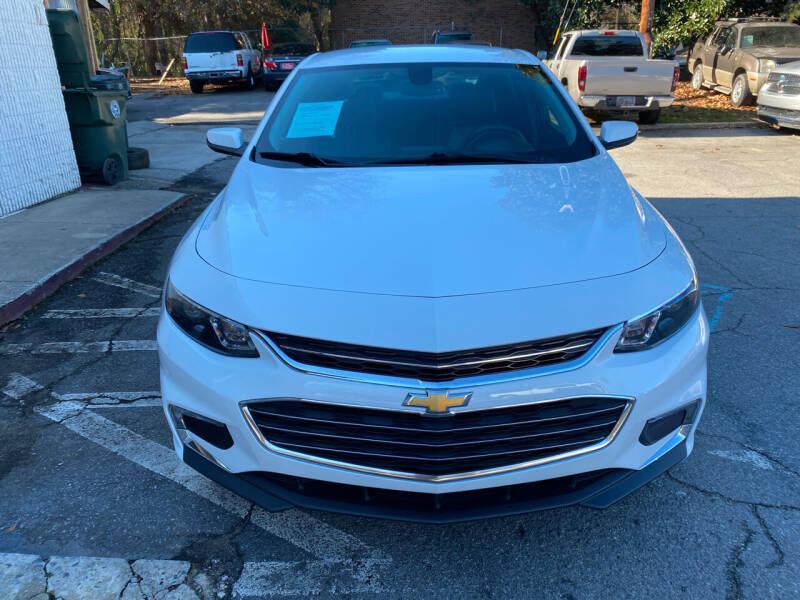 2018 Chevrolet Malibu for sale at J Franklin Auto Sales in Macon GA