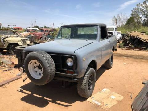 1974 International Scout II for sale at Classic Car Deals in Cadillac MI