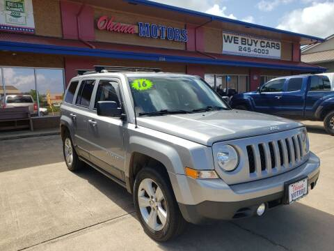 2016 Jeep Patriot for sale at Ohana Motors in Lihue HI